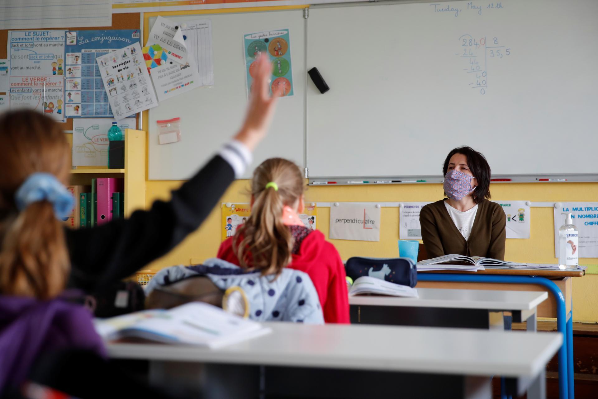 В Україні розробляють правила перебування в школі з 1 вересня