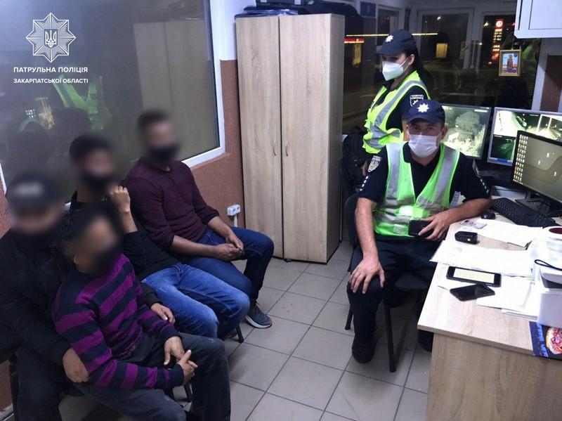 Вночі в області затримали нелегалів