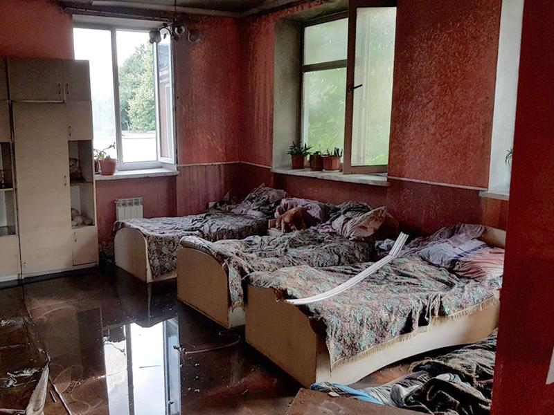 Пожежа у Сваляві: загорілось приміщення центру соціально-психологічної реабілітації дітей