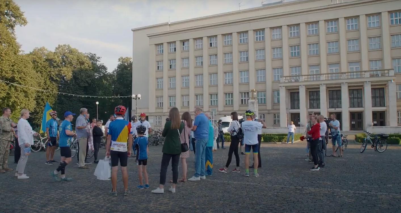 """В Ужгороді стартував """"Ветеранський велопробіг Ужгород — Маріуполь"""""""