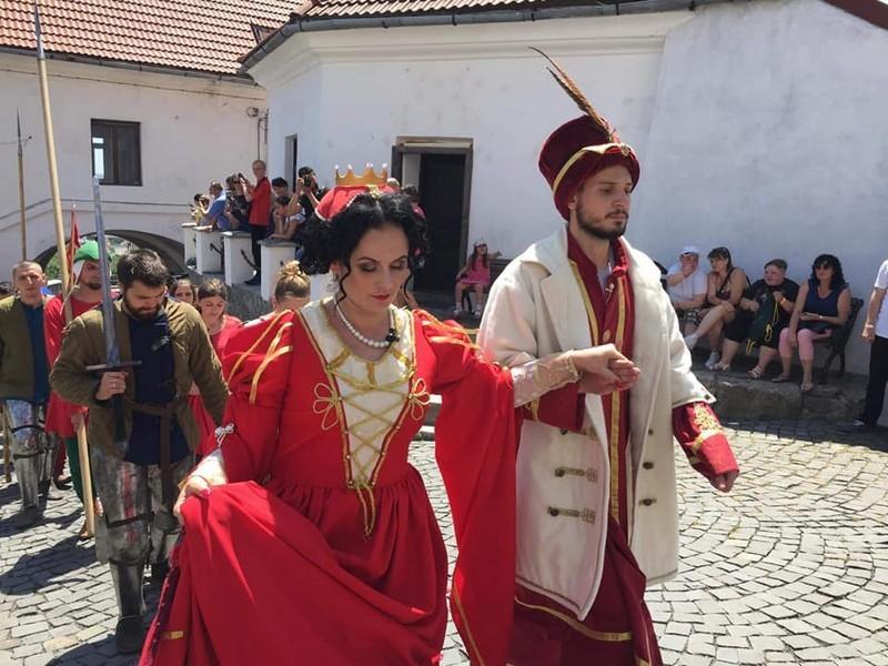 """Завтра у """"Паланку"""" відбудеться реконструкція весілля Ілони Зріні та Імре Текелі"""