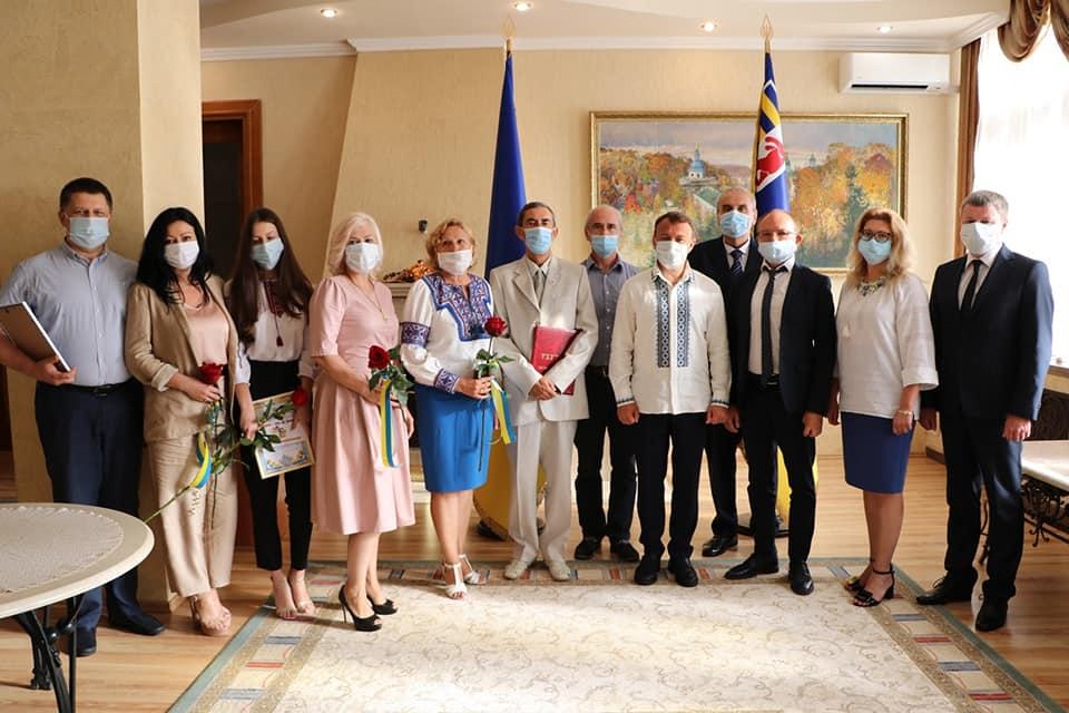 Список закарпатців, яких відзначили з нагоди Дня Незалежності України