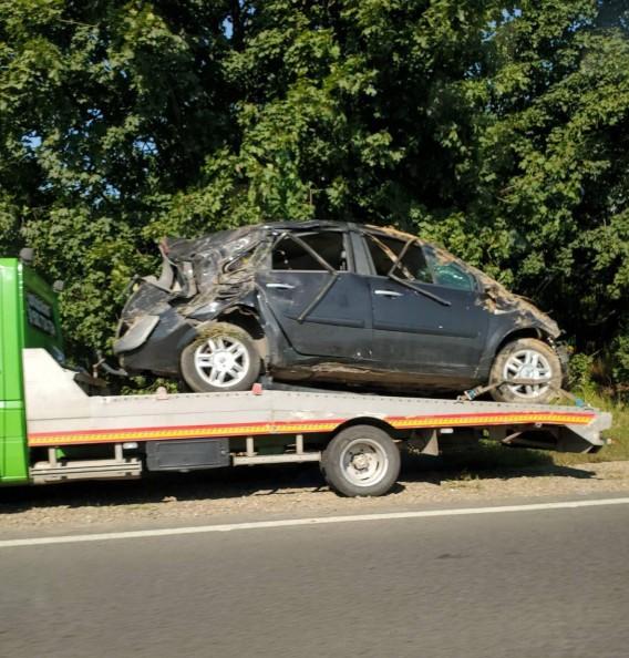 На Мукачівщині авто потрапило в аварію, — ЗМІ