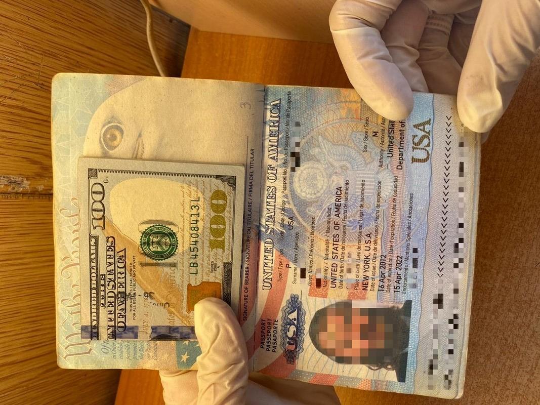 Американець пропонував прикордоннику 100 доларів, аби потрапити в Україну
