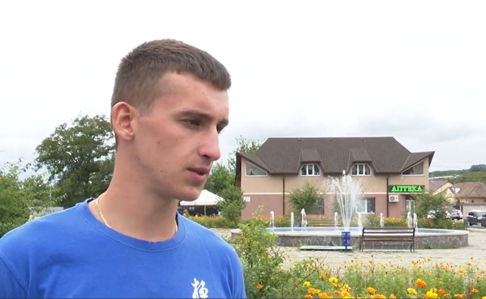 Молодий закарпатець став гордістю селища на Мукачівщині