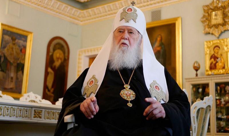 Патріарх Філарет заразився коронавірусом
