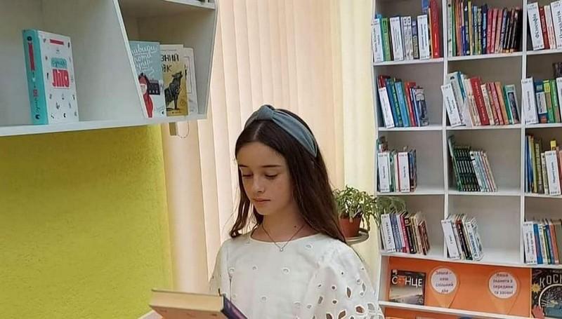 Юна мукачівка стала лідером читання Закарпаття