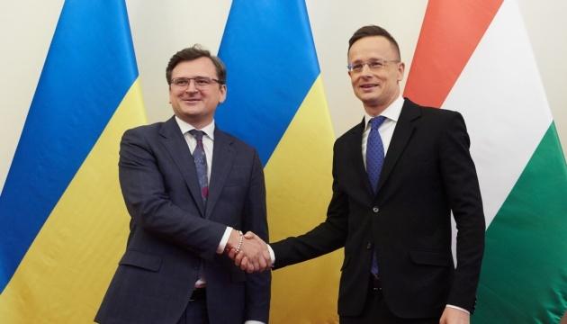 Міністр закордонних справ України запросив главу МЗС Угорщини разом відвідати Закарпаття