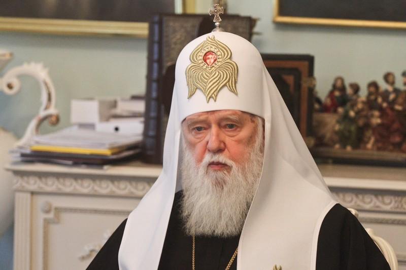 Патріарх Філарет подолав коронавірус