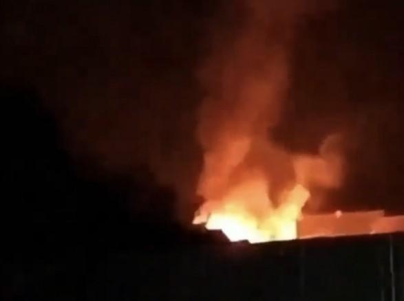 ЗМІ повідомляють про пожежу в ромському поселенні