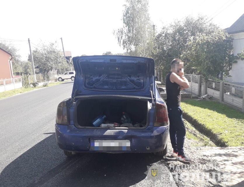 На Тячівщині зупинили водія, який їздив під кайфом