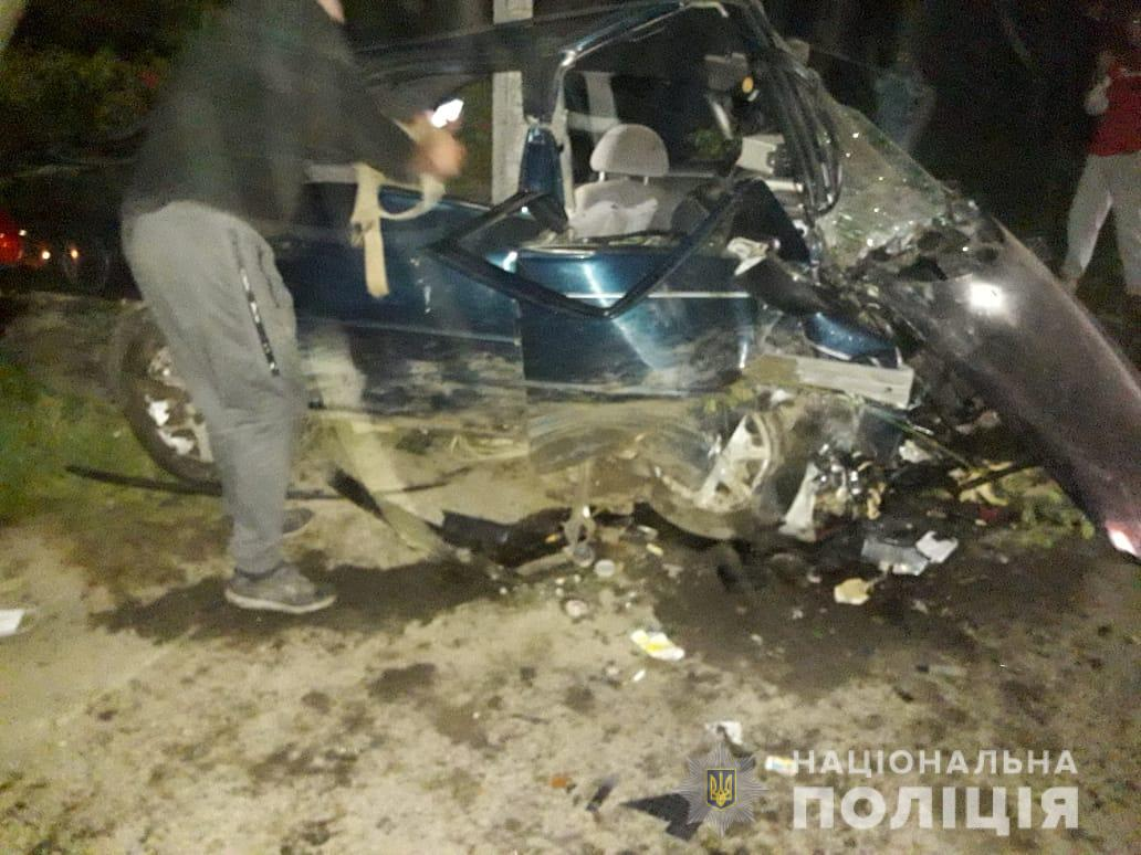 Водій, який вчинив ДТП, був п'яний і не мав посвідчення водія