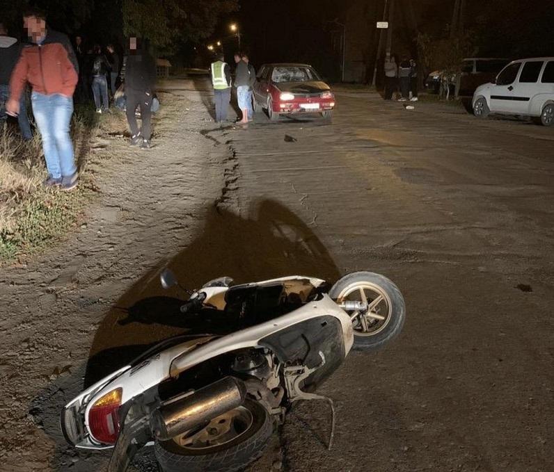П'яна 19-річна водійка виїхала на зустрічну смугу й скоїла ДТП