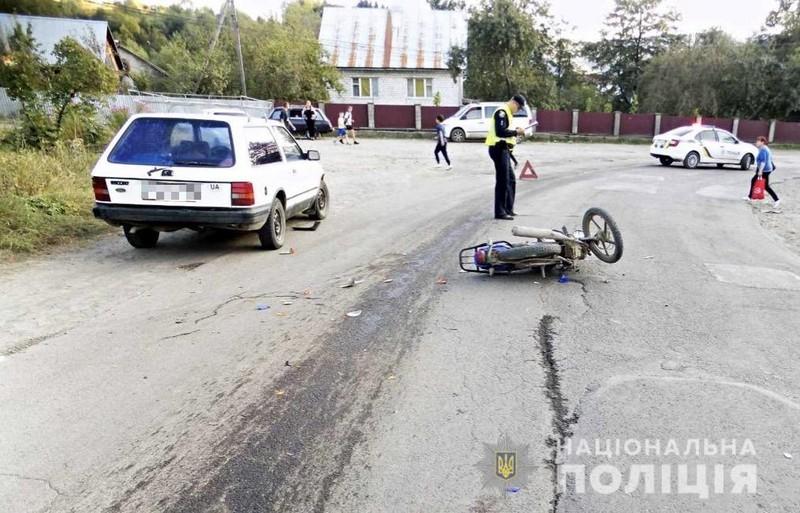У Міжгір'ї трапилась аварія