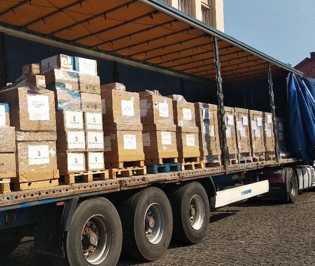 Угорщина передала лікарням Закарпаття 50 апаратів ШВЛ