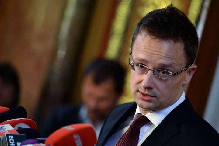 Петер Сіярто в Ужгороді розповів, коли Угорщина перестане блокувати співпрацю України з НАТО