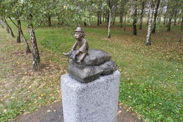 У Берегові встановили першу міні-скульптурку