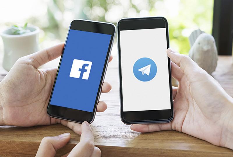 У роботі Telegram і Facebook сьогодні стався збій