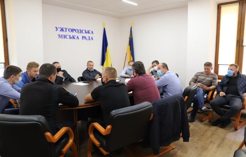 В Ужгороді відбулось засідання транспортної комісії
