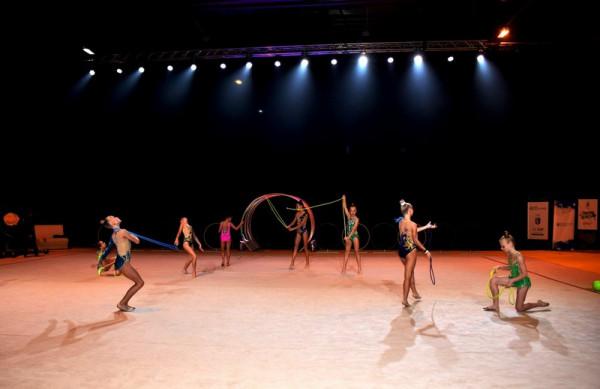 В обласному центрі розпочались змагання із художньої гімнастки