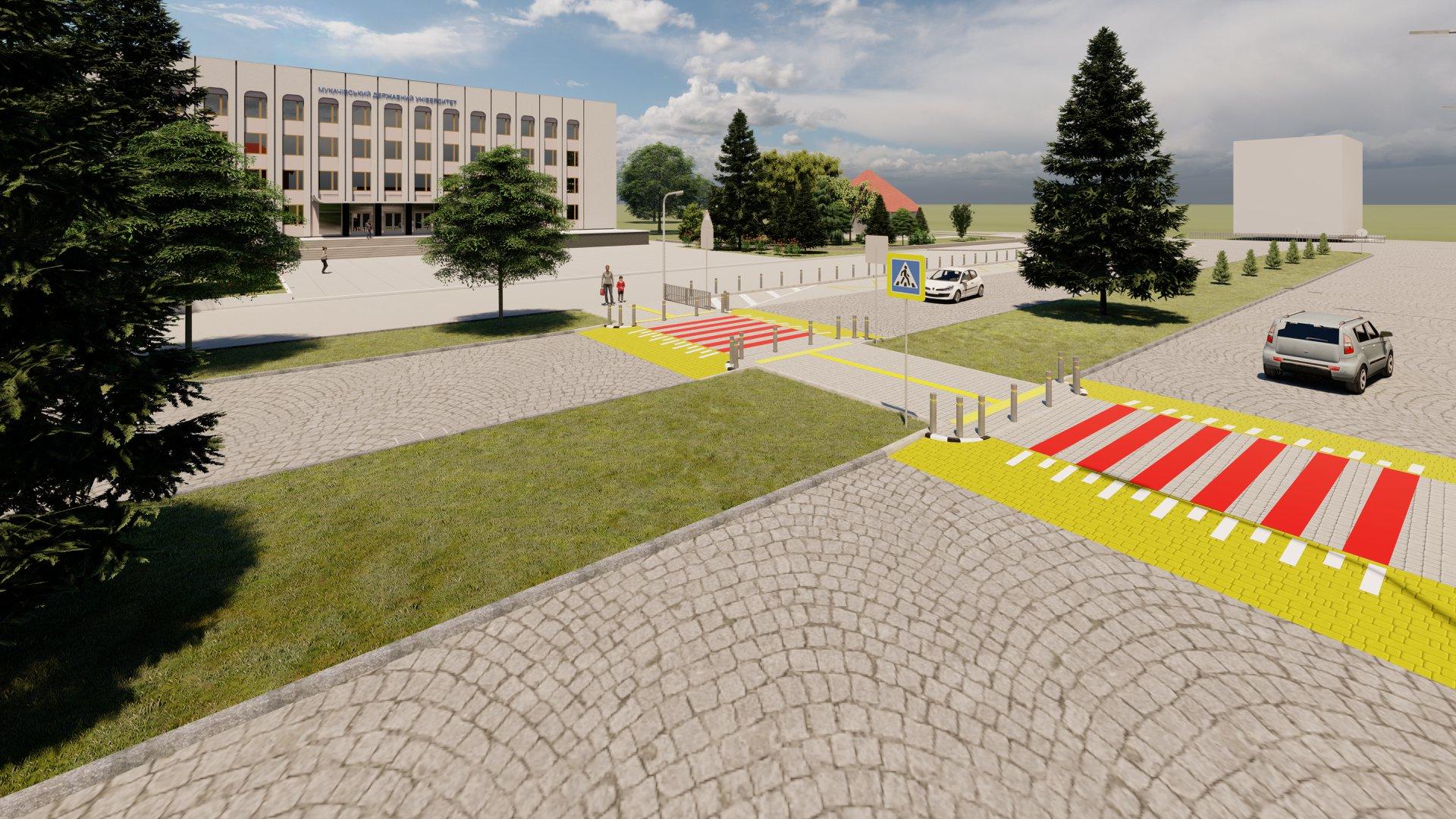 Дві парковки для туристичних автобусів облаштують у Мукачеві