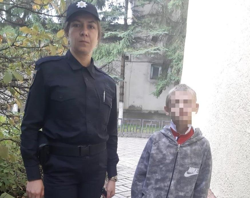На Закарпатті поліцейські всю ніч шукали 10-річну дитину