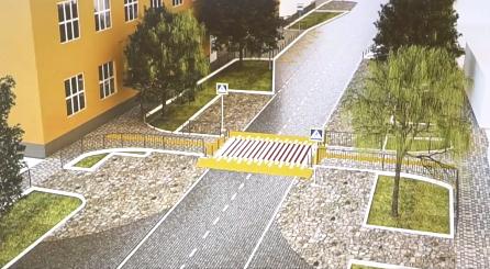 """Замість """"лежачих поліцейських"""" у Мукачеві з'являться підняті пішохідні переходи"""