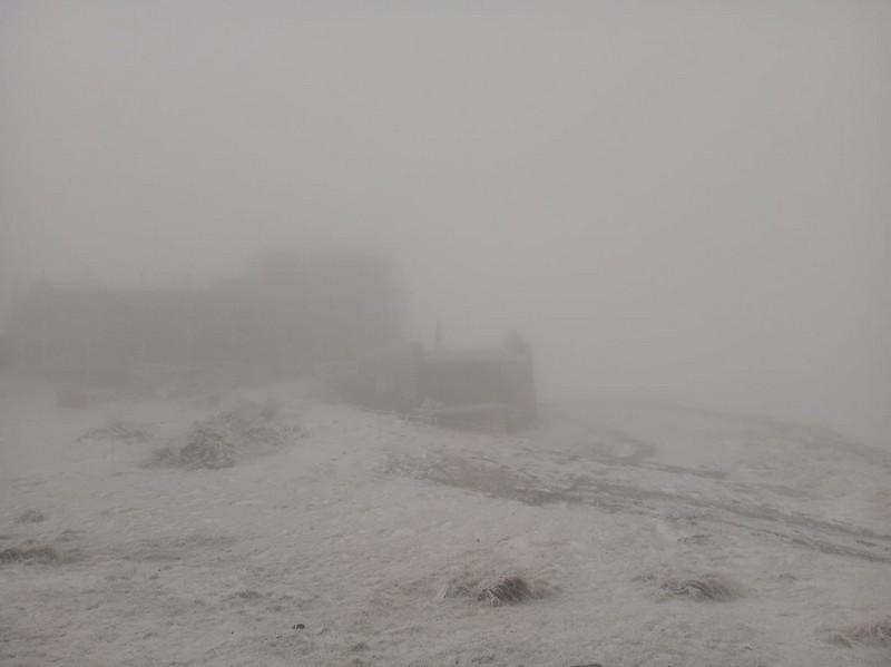 У горах Закарпаття вдарив мороз. На горі Піп Іван Чорногірський 14 жовтня випав сніг