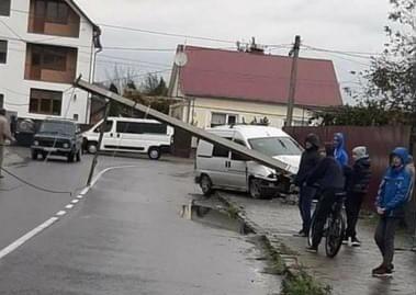 ДТП у Хусті: очевидці оприлюднили фото з місця аварії