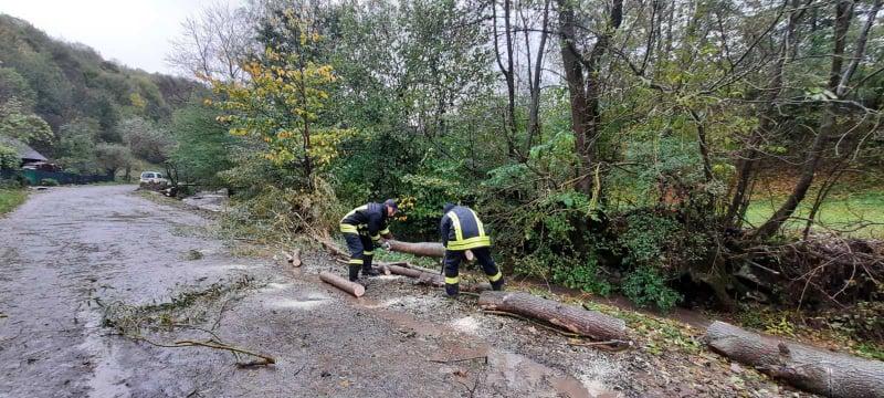 Рятувальники розповіли про наслідки негоди у Закарпатті