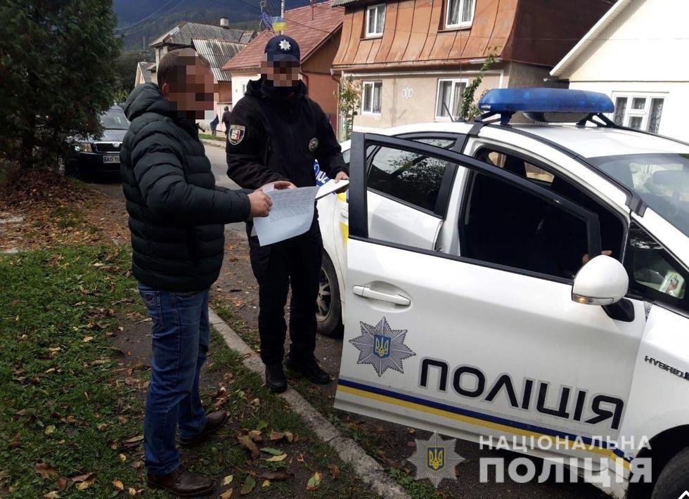 Поліцейські Рахівщини перевірили, як водії пропускають спецтранспорт