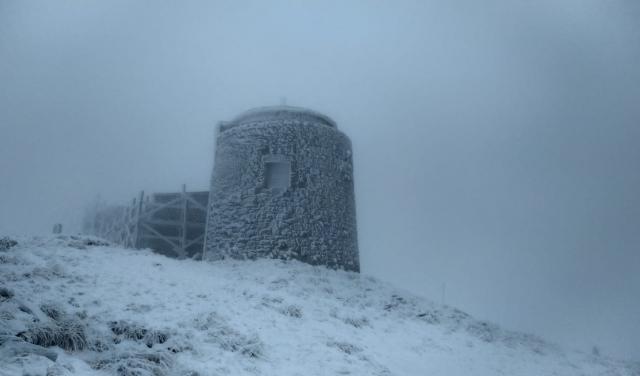 Карпатські вершини вкрило снігом