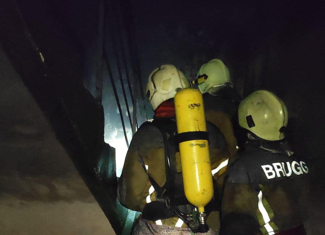 В ужгородській п'ятиповерхівці виникла пожежа