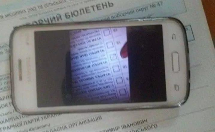 На одній із дільниць Ужгорода зафіксували порушення