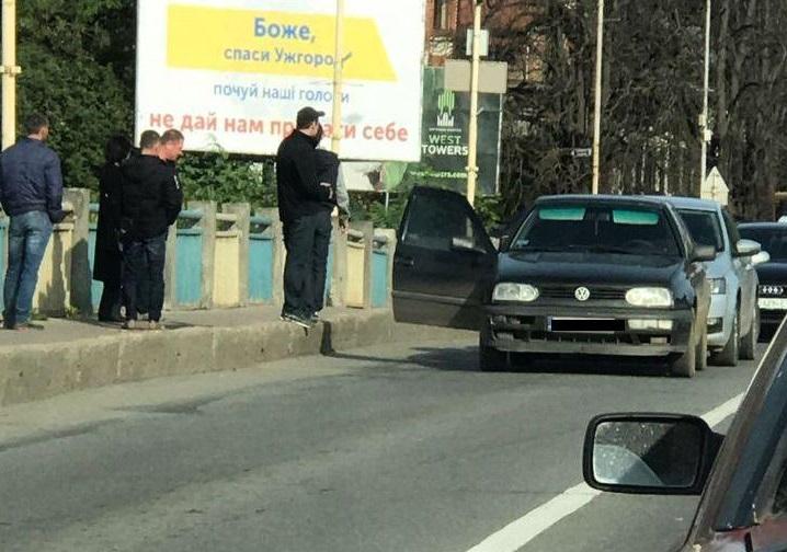 Сьогодні в Ужгороді трапилась ДТП