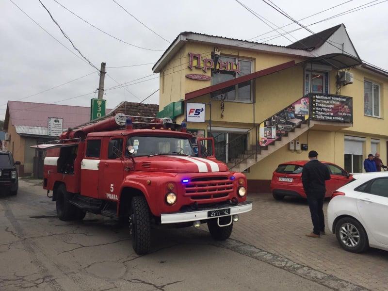Виникла пожежа в котельні ательє-магазину: рятувальники повідомили ймовірну причину