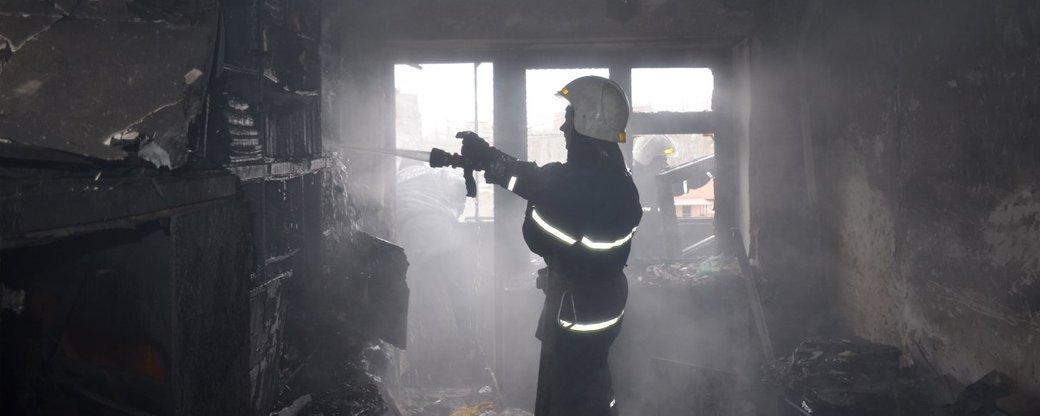 На Закарпатті під час пожежі трагічно загинув чоловік
