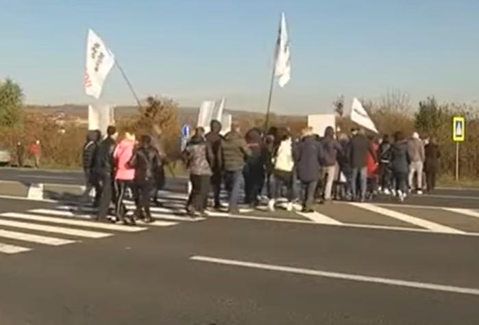 Як на Закарпатті підприємці протестували