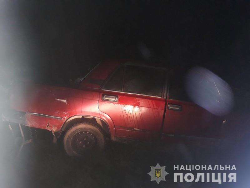 На Берегівщині ввечері сталася ДТП