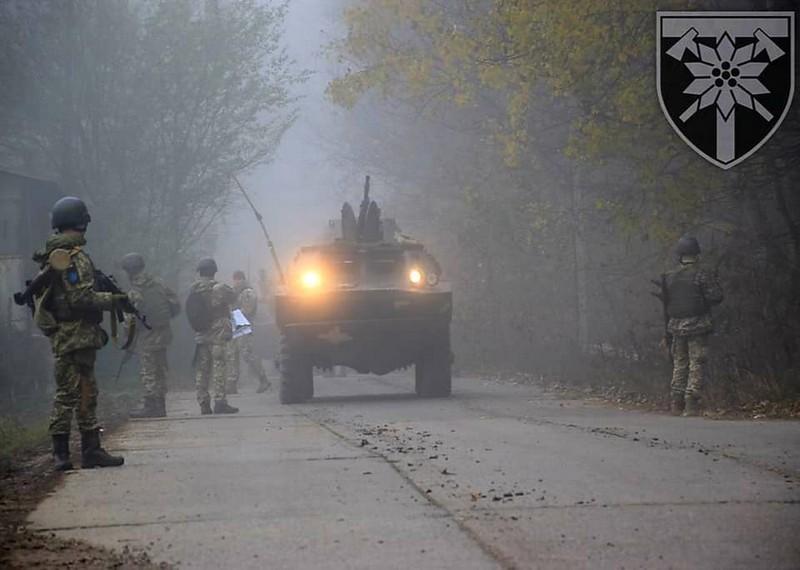 Підрозділи 128-ої бригади проводили навчання в області