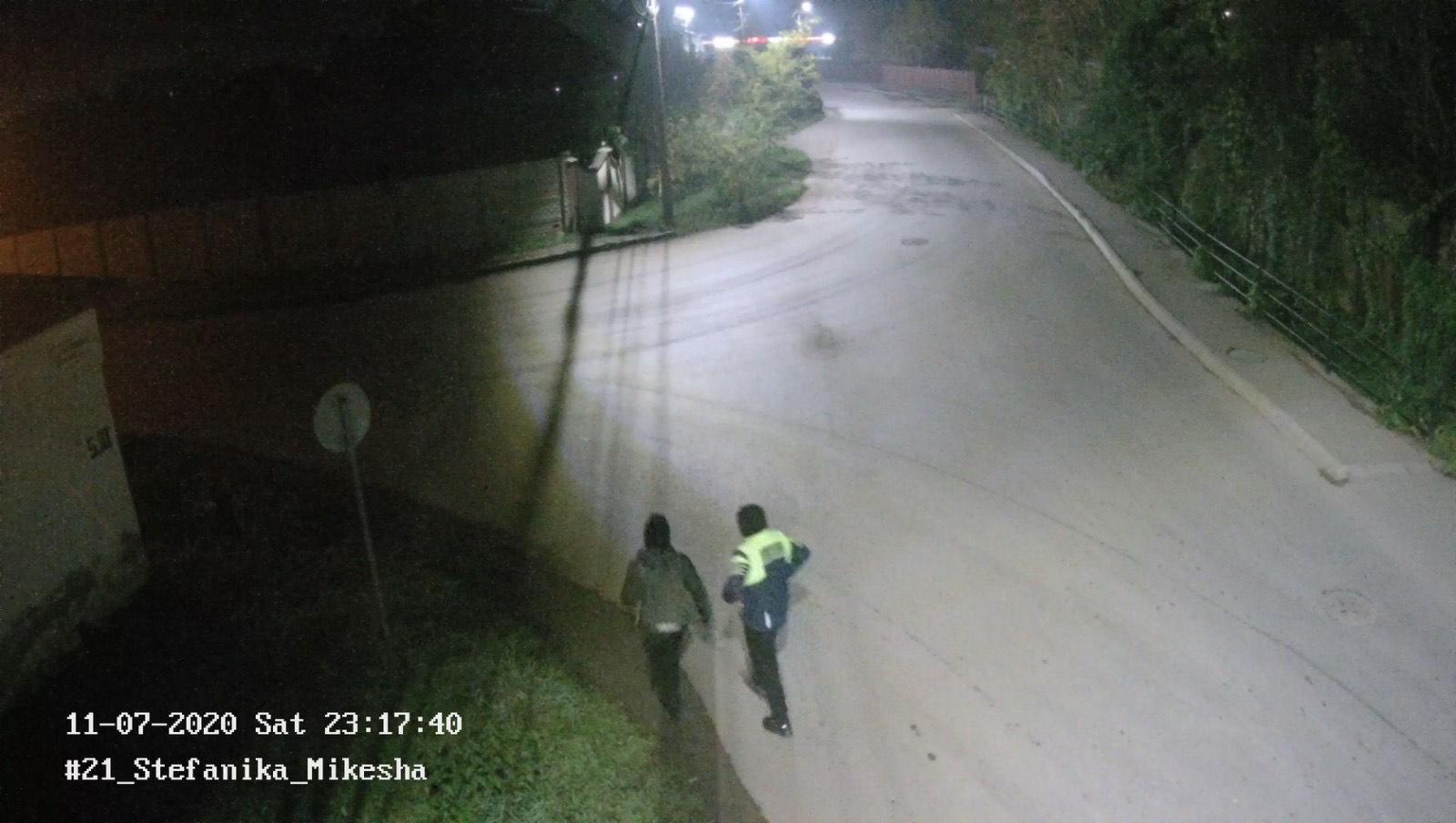 У Берегові невідомі вкрали дорожній знак. Мер просить впізнати злодюжок