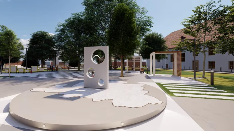 """У центрі Мукачева оновлять """"Депеш парк"""": який він може мати вигляд після реконструкції"""
