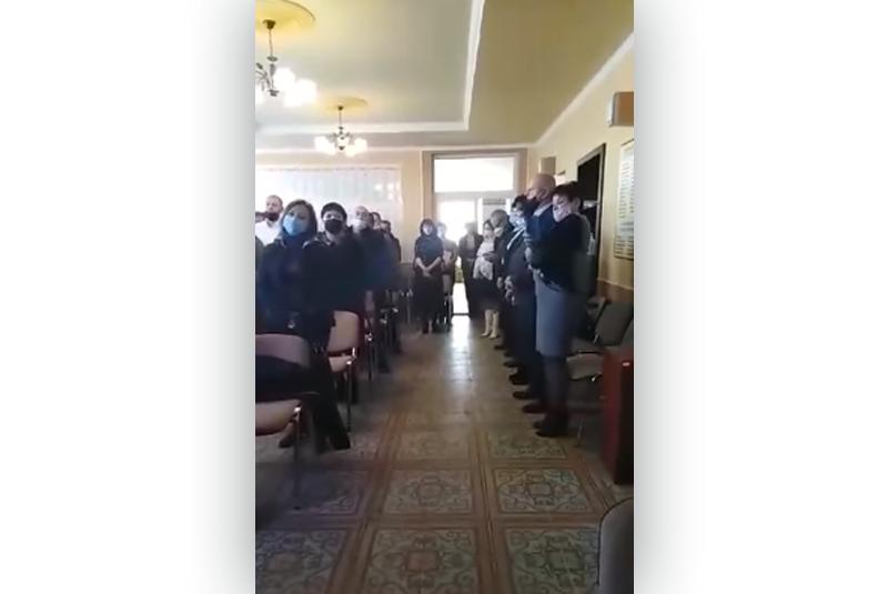 На Закарпатті депутати однієї з ОТГ заспівали угорський гімн. СБУ розпочала перевірку