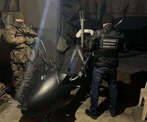 На Іршавщині тютюнові контрабандисти втратили літальний апарат