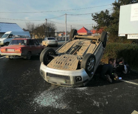 Патрульні розповіли про ДТП, яка трапилась сьогодні в Ужгороді