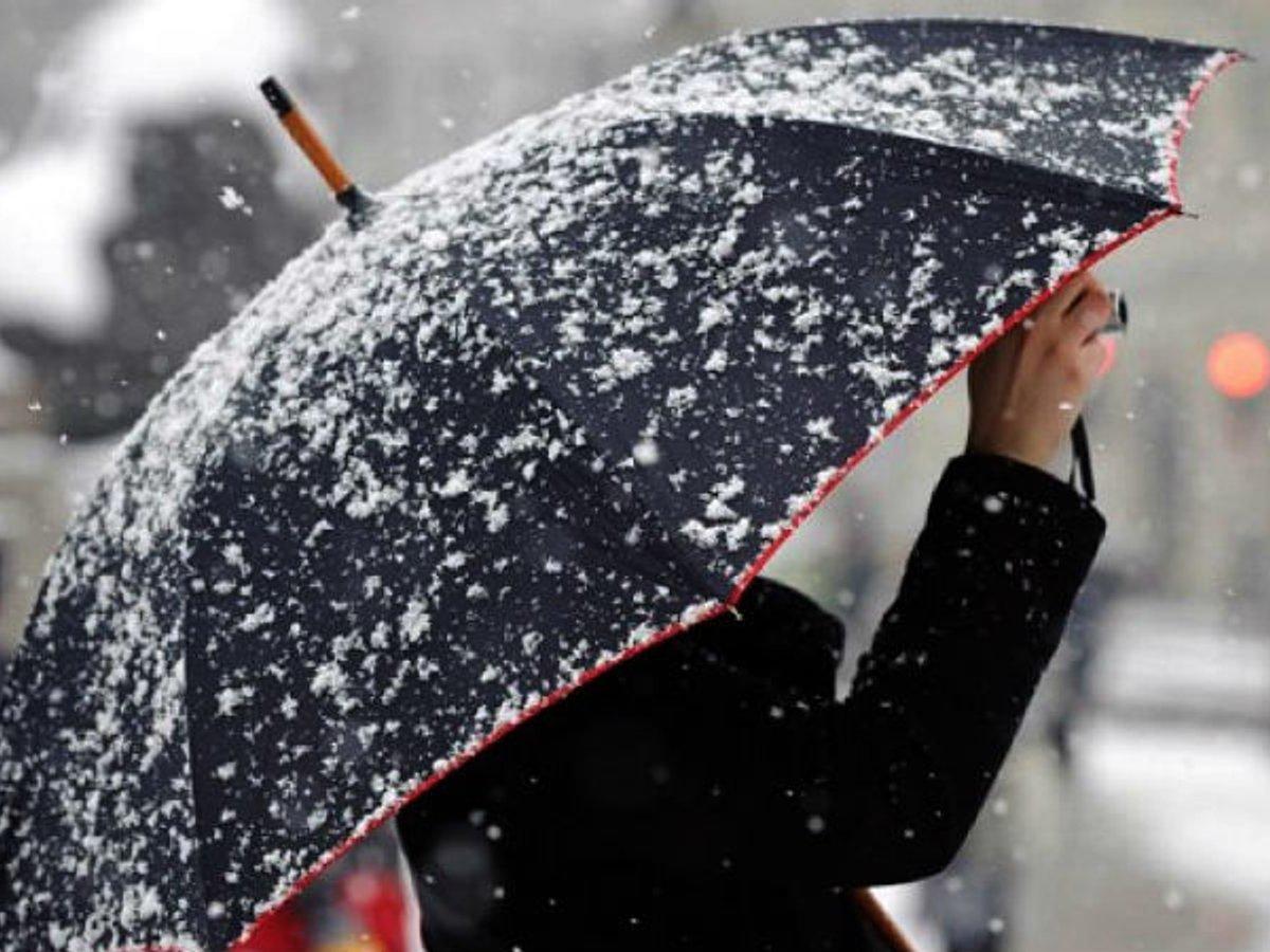 На Закарпатті прогнозують сніг та дощі