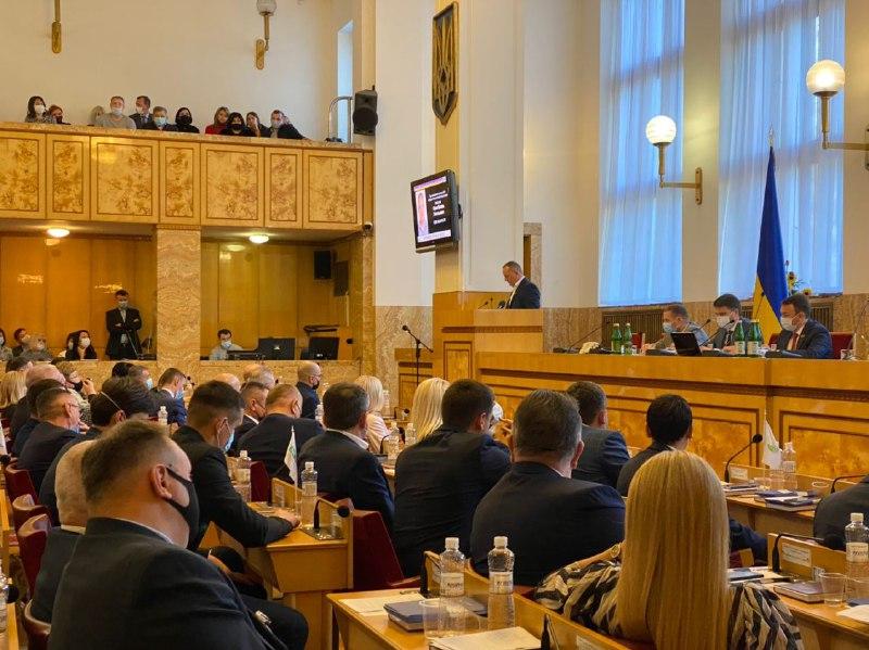 Відомо, хто претендує на посаду голови Закарпатської обласної ради: прізвища