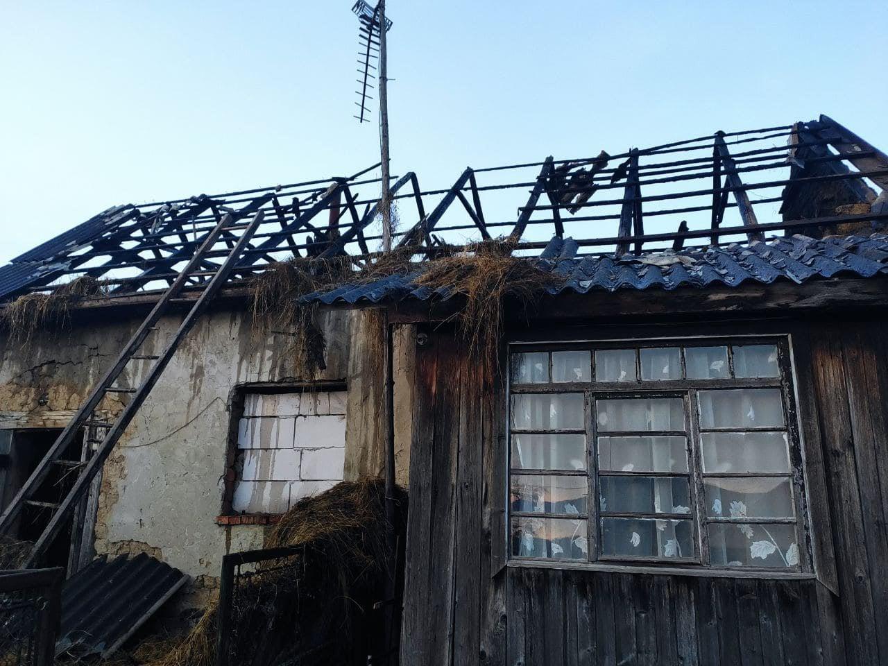 Вчасне виявлення пожежі врятувало від значних збитків