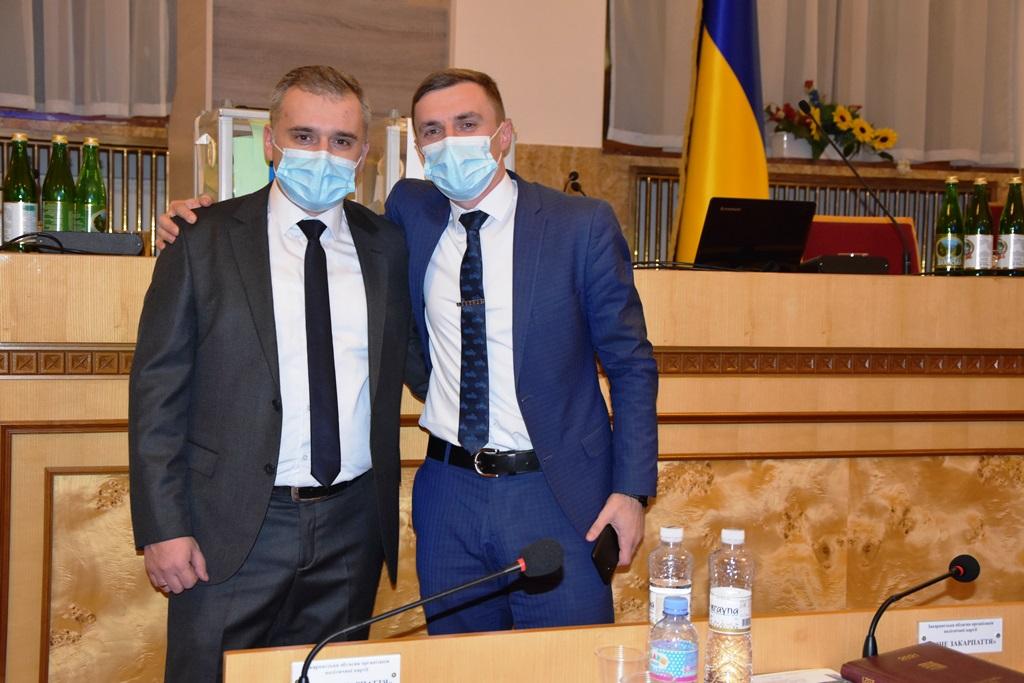 Обрано заступників голови Закарпатської облради