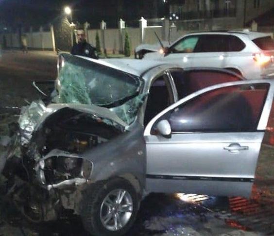 Аварія при в'їзді в Сваляву: поліцейські розповіли подробиці